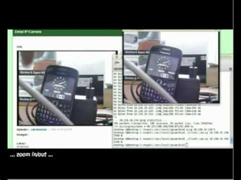 zoom ip camera streaming & control on beagleboard (over