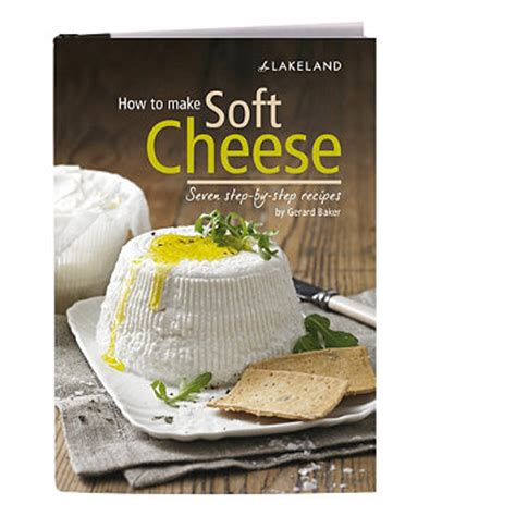 How To Make Soft Cheese In Books And Book Stands At Lakeland | how to make soft cheese in books and book stands at lakeland