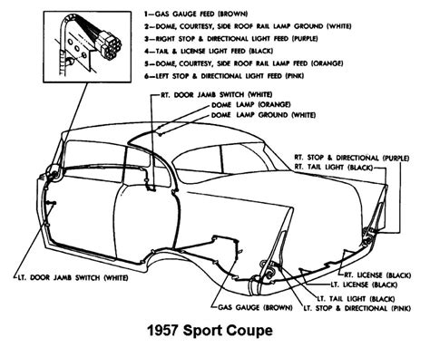1955 chevy bel air dash wiring diagram 1940 ford