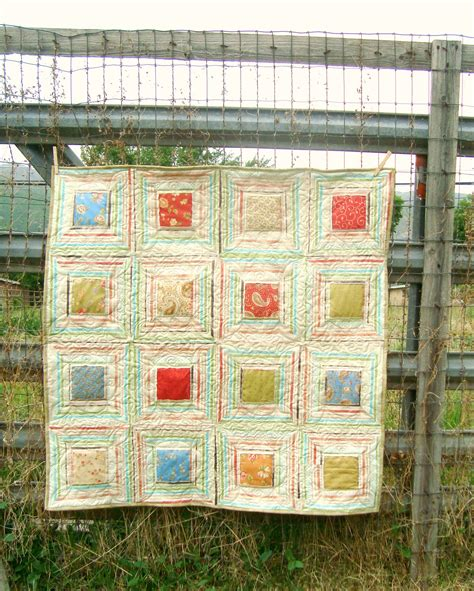 Window Pane Quilt by Window Panes And Wheelies Quilts
