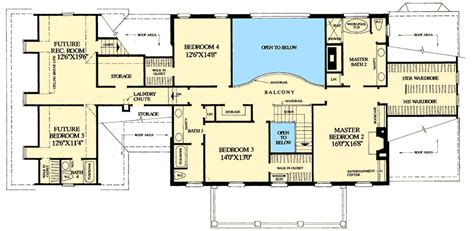 floor plans with two master suites colonial home plan with 2 master suites 32463wp 1st