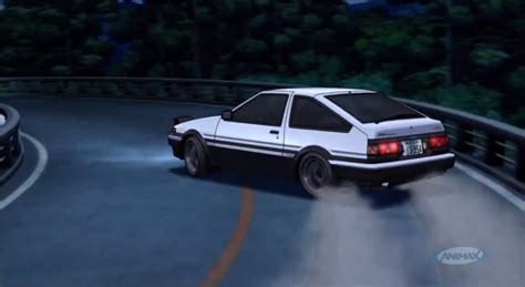 initial d initial d the ae86 rise fall rebirth