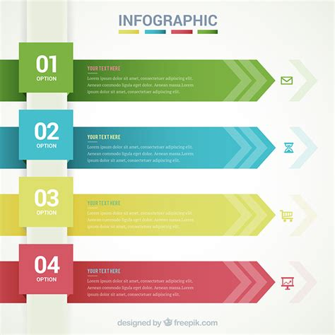 graphic design templates free 40 free infographic templates to hongkiat
