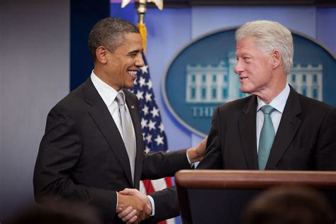 file barack obama and bill clinton in the oval office jpg president obama president clinton on tax cuts