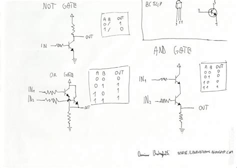 npn transistor or gate fritzing project logic gates with transistors