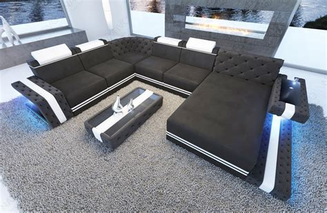 di divani divano imperial con illuminazione a led nativo italia