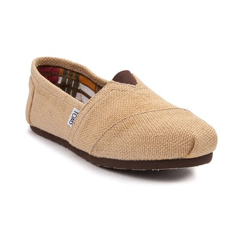 Toms Shoes Gift Card - womens toms classic burlap casual shoe brown 350543