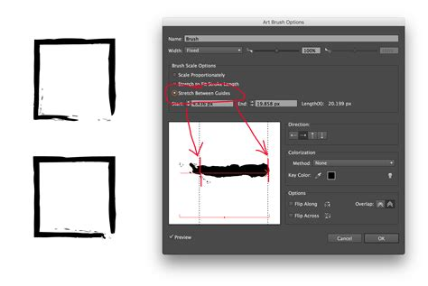 illustrator pattern brush without distortion illustrator brush without gap graphic design stack exchange