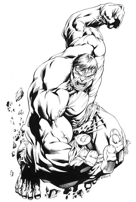 coloring pages classic art robert atkins art strongest there is