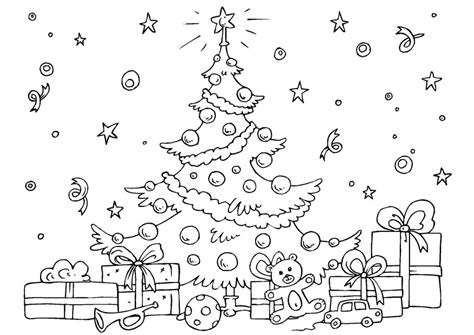 free coloring pages of christmas room