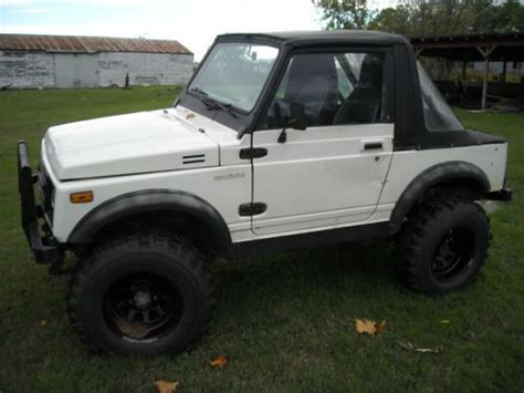 1986 Suzuki Samurai For Sale Find Used 1986 Suzuki Samurai In Colbert Oklahoma United