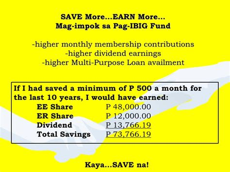 pag ibig fund earn more program
