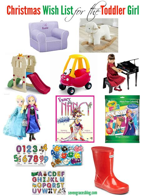 christmas wish list for 21 years old wish list for the toddler seven graces