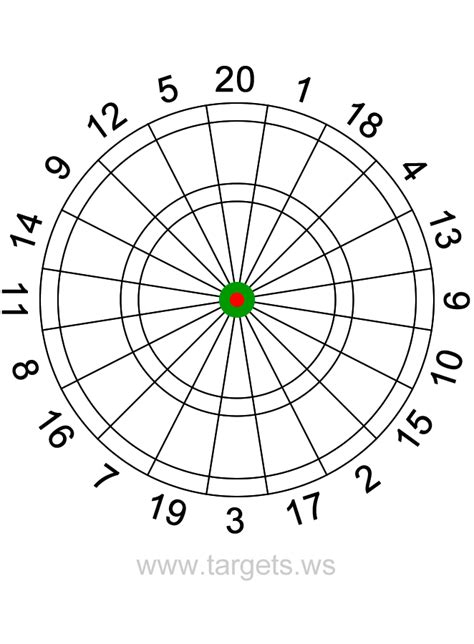 printable dart board targets printable dart board targets calendar june