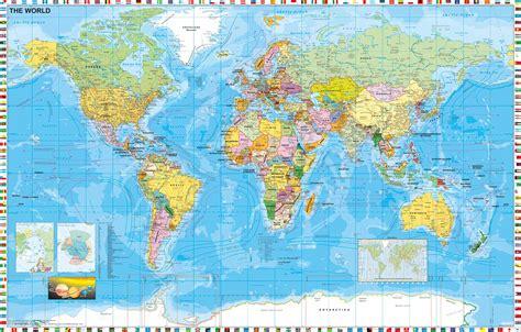 Beschriftung English by Xxl Wandkarte Als Fototapete Weltkarte Politisch Mit