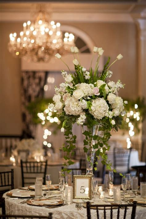 tall centerpieces on pinterest tall centerpiece wedding tall white wedding centerpiece delphiniums wedding and