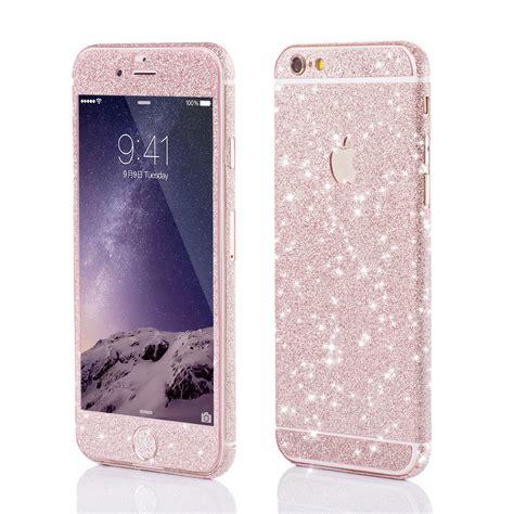 Glitzer Folie Iphone 6 Plus by Apple Iphone Glitzerfolie F 252 R Apple Iphone 5 6 7 Und Plus