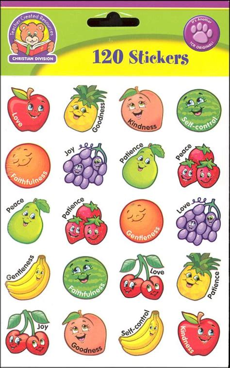 printable vegetable stickers fruit of the spirit stickers 030317 details rainbow