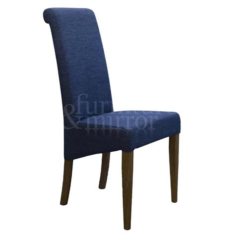Denim Chairs by Napoli Denim Fabric Dining Chair Furniture And Mirror