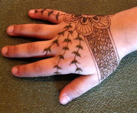 simple henna tattoo designs for kids henna designs for arabic beginners