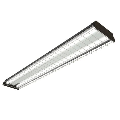 Shop Lighting Fixtures Shop Utilitech Fluorescent Shop Light Common 4 Ft Actual 48 In At Lowes