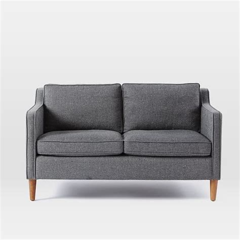 saltwater couch hamilton loveseat 56 quot west elm