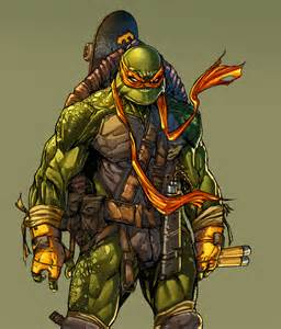mutant turtles colors leonardo paciarotti leoarts mutant