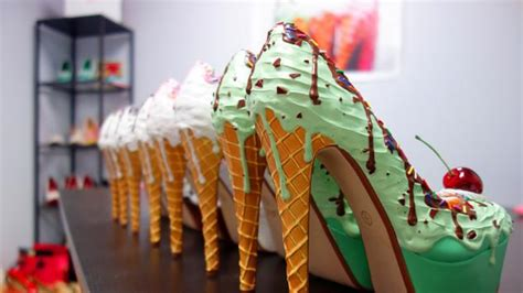 fashion meets food shoe bakery food galleries paste