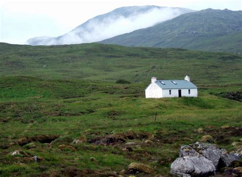 tour scotland photographs tour scotland photograph remote cottage wester ross