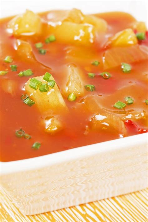 sweet  sour sauce  pineapple recipe