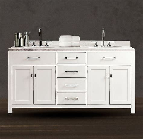 bathroom vanity restoration hardware restoration hardware bathroom vanity sink and double