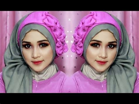 tutorial hijab ega 7 tutorial hijab pesta dan wisuda inivindy doovi