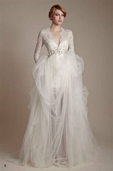 Wedding Dresses With Sleeves by 12 Inspiring Sleeve Wedding Dresses