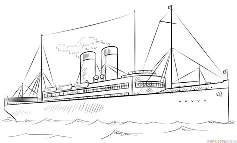 how to draw a boat paddle steamboats drawing www pixshark images galleries