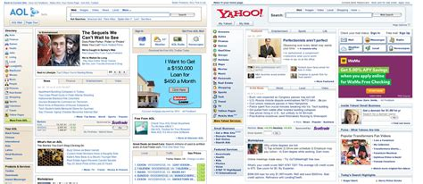 aol one step again new home page identical to