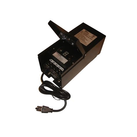 Landscape Lighting Photocell Multi Tap 300watt Landscape Transformer With Photocell Duration Timer T300 Bk Destination
