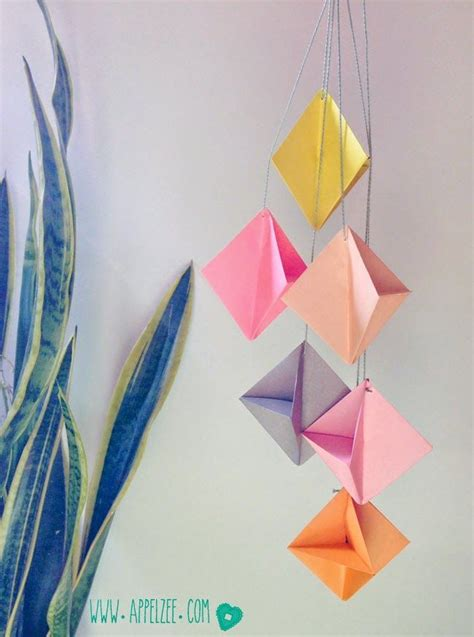 Origami Ornaments Patterns - origami ornaments by villa appelzee paper