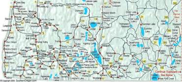 map of lakes in southern oregon cing in pnw food