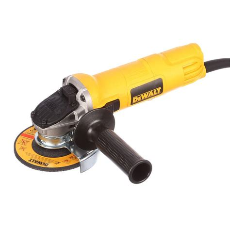 dewalt 7 4 1 2 in small angle grinder with 1 touch