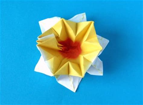 origami daffodil joost langeveld origami page