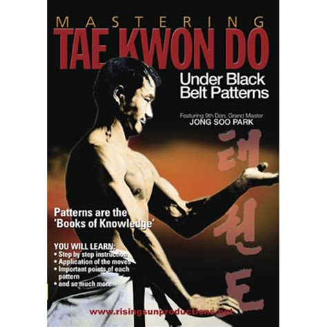 beneath black books mastering tae kwon do black belt patterns your