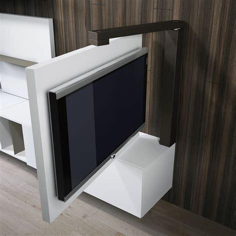 bracci porta tv porta tv orientabile girevole 360 dettaglio