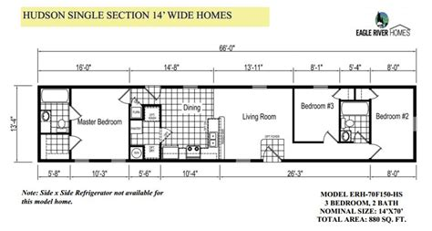 14x70 mobile home floor plan double single wides showcase homes of maine bangor me