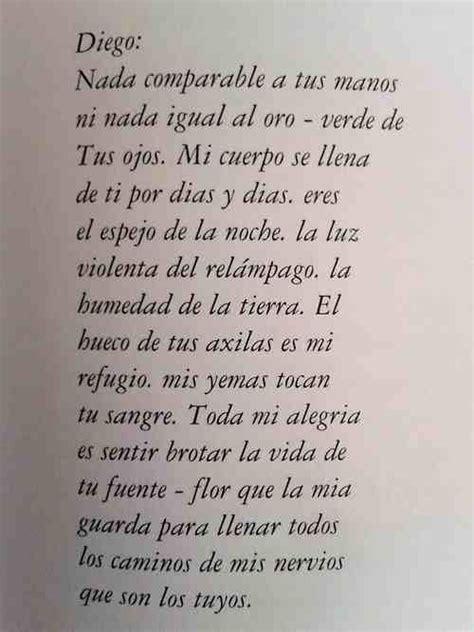 my lyrics rivera carta de frida kahlo a diego rivera poesia y citas