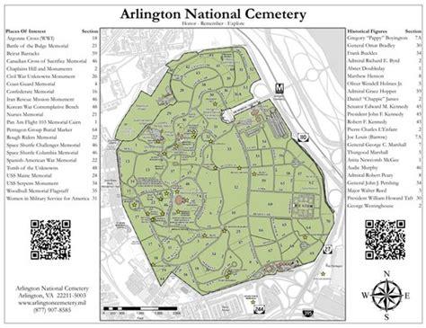 arlington national cemetery map arlington national cemetery maplets