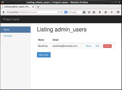 free bootstrap templates for rails ruby on rails 4 と bootstrap で管理画面のレイアウトを作成する ホームページ制作