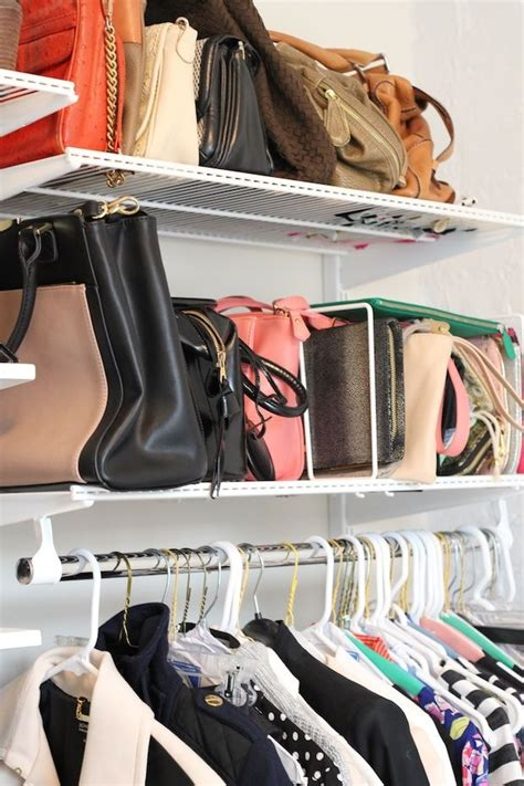 How To Store Purses In A Small Closet by 25 Changing Ways To Organize Your Purses Closetful