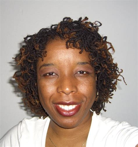 how to spike someones hair soft spike curls on sisterlocks sophia naturally