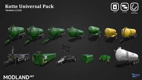 kotte universal pack v 1 2 kotte universal pack v 1 2 mod farming simulator 17