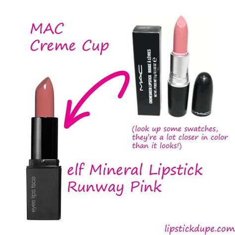 Mineral Lipstick In Runway Pink Shade 44 best images about e l f dupes for mac